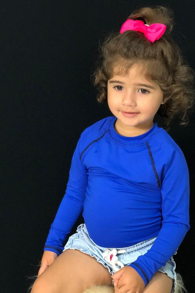 Blusa Com Proteção Solar Infantil